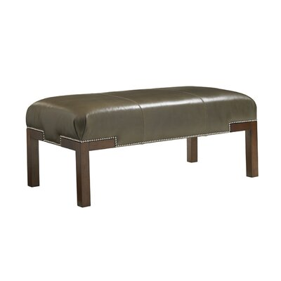 Lexington Coventry Hills Leather Norflok Cocktail Ottoman