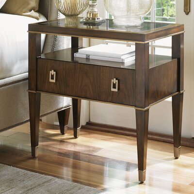 Lexington Tower Place 1 Drawer Nightstand