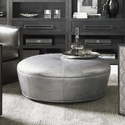 Lexington Claudia Leather Cocktail Ottoman