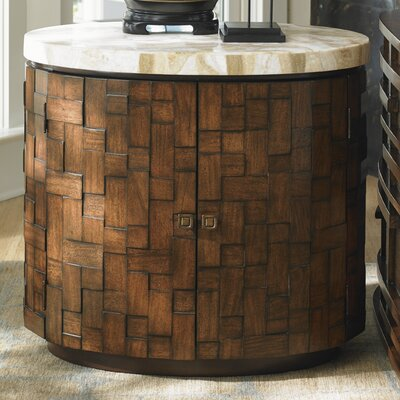 Tommy Bahama Home Island Fusion Banyan End Table