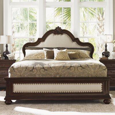 Tommy Bahama Home Kilimanjaro Upholstered Panel Bed