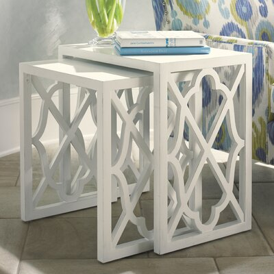 Tommy Bahama Home Ivory Key Nesting Tables