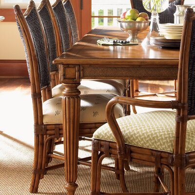 Tommy Bahama Home Island Estate Mangrove Woven Back Side Chair (Set of 2)
