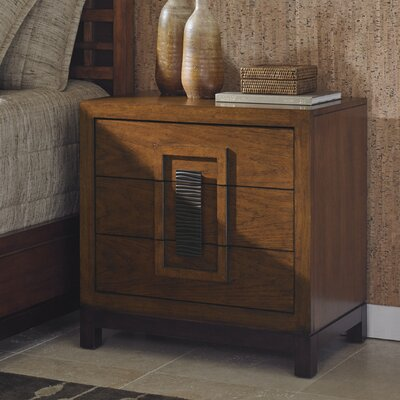 Tommy Bahama Home Island Fusion 3 Drawer Bachelo..