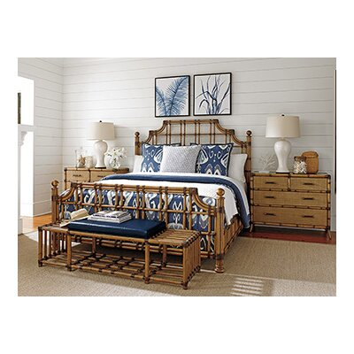 Tommy bahama home twin palms panel customizable bedroom Tommy bahama bedroom furniture sets