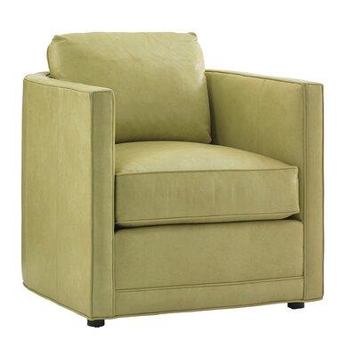 Tommy Bahama Home Twin Palms Dorado Beach Leather Arm Chair
