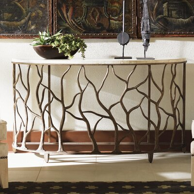 Tommy Bahama Home Road to Canberra Bannister Garden Console Table