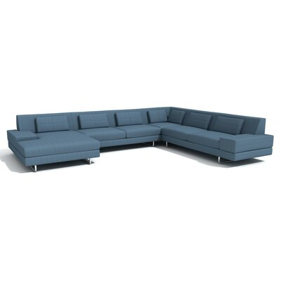 TrueModern Hamlin Corner Sectional with Chaise