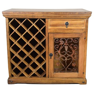 Artesano Home Decor 23 Bottle Floor Wine Cabinet