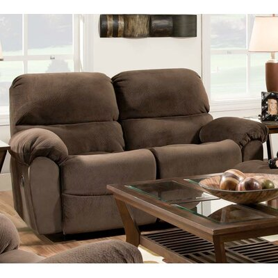 Chelsea Home Cleves Rocking Reclining Loveseat