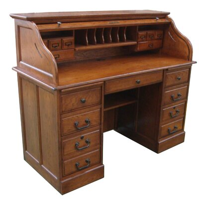 Chelsea Home Mylan Roll Top Desk Top