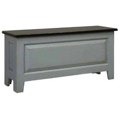 Chelsea Home Ellie Wood Storage Bench Image