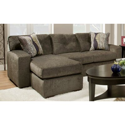 Chelsea Home Rockland Reversible Chaise Sectional