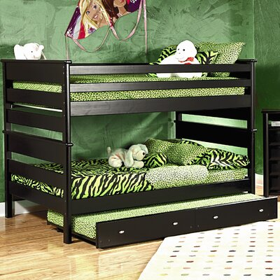 Chelsea Home Full over Full Standard Bunk Bed with Trundle