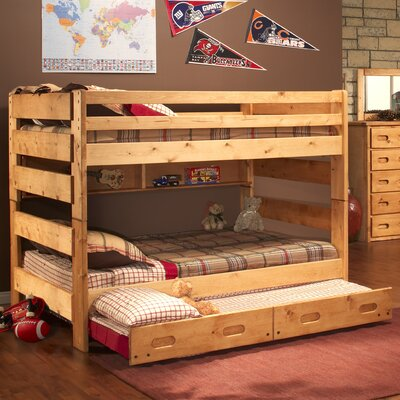 Chelsea Home Full over Full Bunk Bed with Trundle