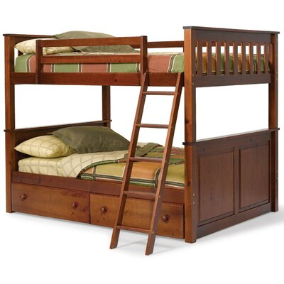 Chelsea Home Full over Full Bunk Bed with..