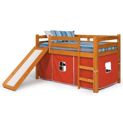Chelsea Home Twin Low Loft Bed