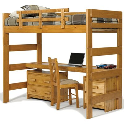 Chelsea Home Twin Loft Bed Customizable Bedroom..
