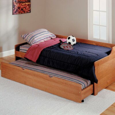 Chelsea Home Twin Captain Bed with Trundle
