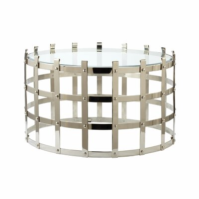 Lazy Susan USA Strap Coffee Table