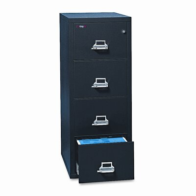 FireKing Fireproof Insulated 4-Drawer Vertical File