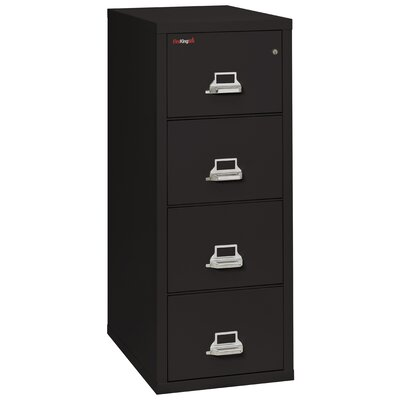 FireKing Fireproof 4-Drawer Vertical Letter File