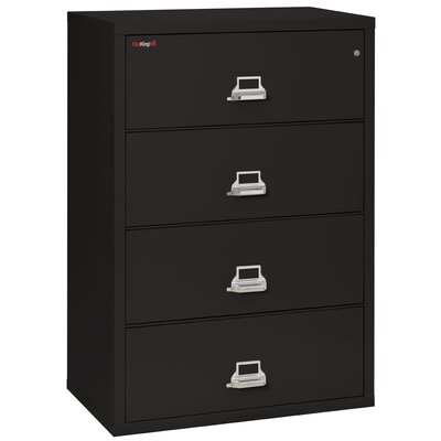 FireKing Fireproof 4-Drawer Vertical File