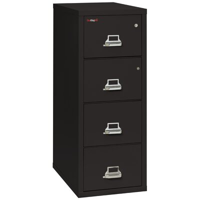 FireKing Fireproof 4-Drawer Vertical Legal F..