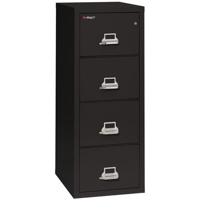 FireKing Fireproof 4-Drawer Vertical L..