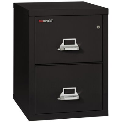 FireKing Fireproof 2-Drawer Vertical Letter File