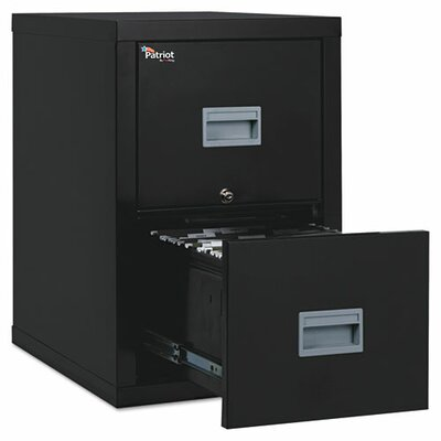 FireKing Fireproof 2-Drawer Patriot Insulated File