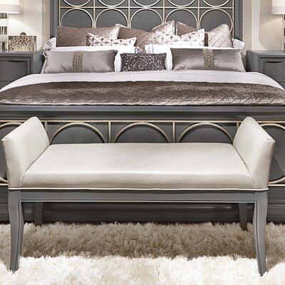 Legacy Classic Furniture Tower Suite Upholstered Bedroom Bench