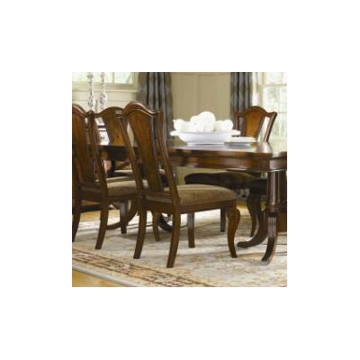Legacy Classic Furniture American Traditions Splat Back Side Chair in Distressed Rich Cordovan Mahogany (Set of 2)