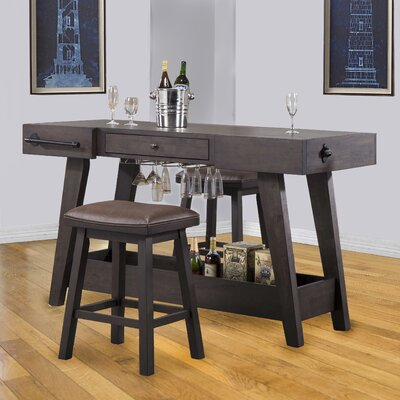 ECI Furniture Lexington Series Kitchen Island Set