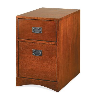 kathy ireland Home by Martin Furniture Mission Pasadena 2-Drawer Mobile File Cabinet