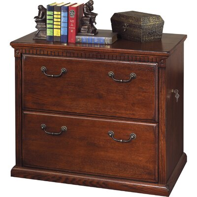 kathy ireland Home by Martin Furniture Huntington Oxford 2 Drawer Lateral File Cabinet