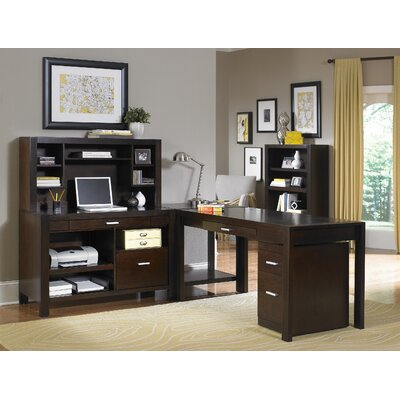 Kathy ireland home by martin furniture carlton l shape desk office suite reviews wayfair - Martin home office furniture ...