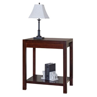 kathy ireland Home by Martin Furniture Carlton Office Corner End Table