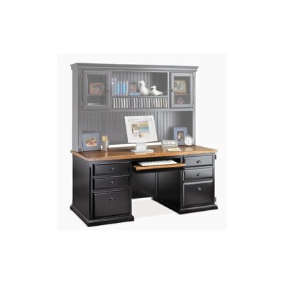kathy ireland Home by Martin Furniture Southampton Onyx Computer Desk