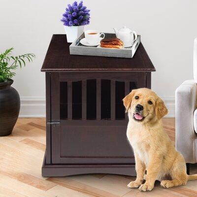 Casual Home Pet Crate End Table U0026 Reviews   Wayfair.ca