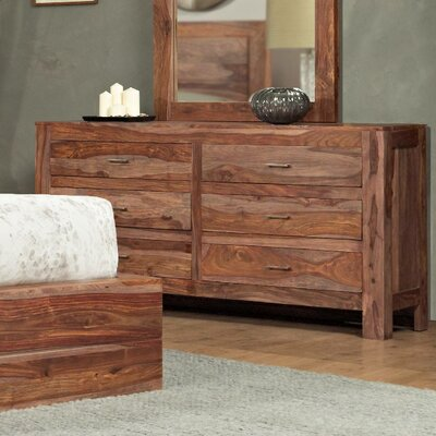 Modus Furniture Atria 6 Drawer Dresser with Mirror