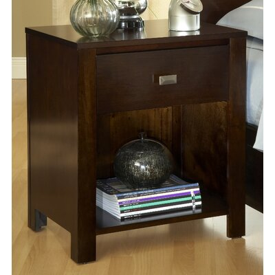 Latitude Run Lottie 1 Drawer Nightstand