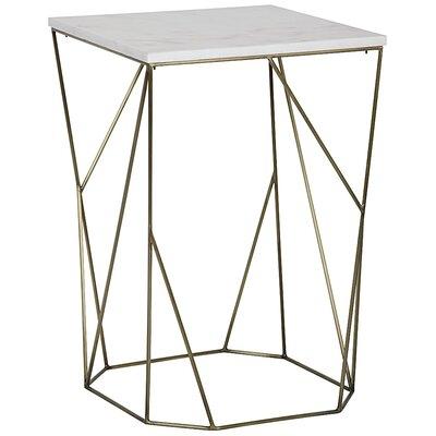 Noir Bast End Table