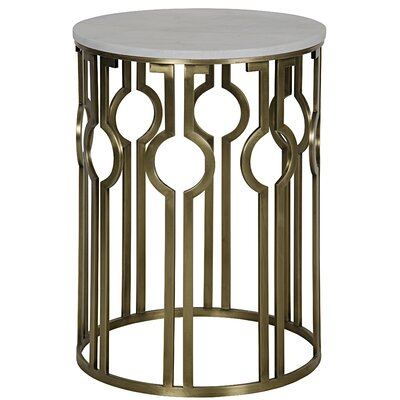Noir Natine End Table
