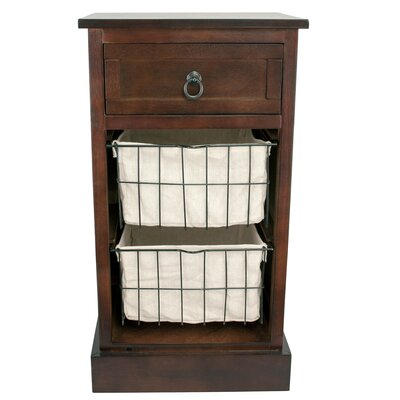 Decor Therapy Winston 1 Drawer End Table