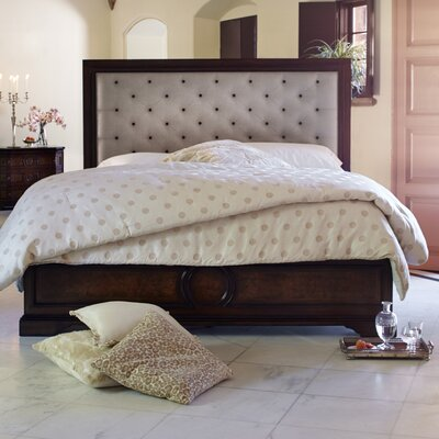 Michael Amini Bella Cera Upholstered Platform Bed