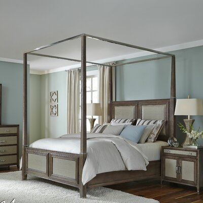 Michael Amini Biscayne West Panel Bed