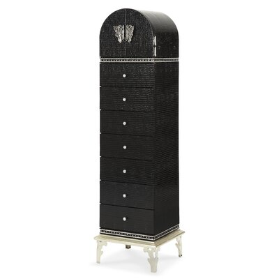 Michael Amini Hollywood Swank 7 Drawer Lingerie Chest