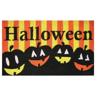 Robert Allen Home And Garden Halloween Pumpkins Doormat Reviews Wayfair