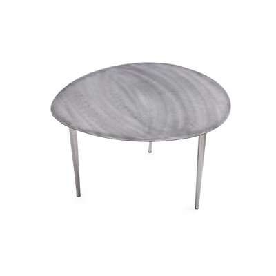 Foreign Affairs Home Decor Silverstone End Table